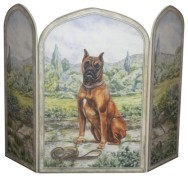 http://www.houzz.com/photos/16839035/Boxer-Dog-3-Panel-Decorative-Fireplace-Screen-contemporary-fireplace-accessories